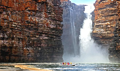 Kimberley King George Falls Coral Expeditions