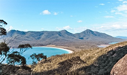 Wineglass Bay Tasmania with Coral Expeditions