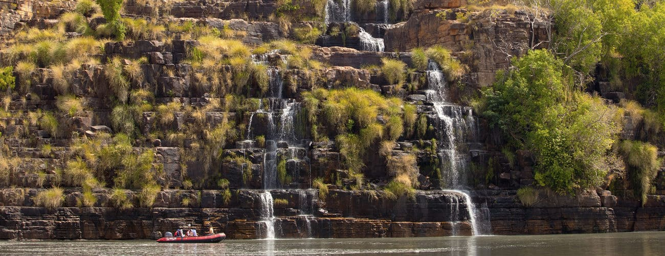 King Cascades, waterfalls of the Kimberley