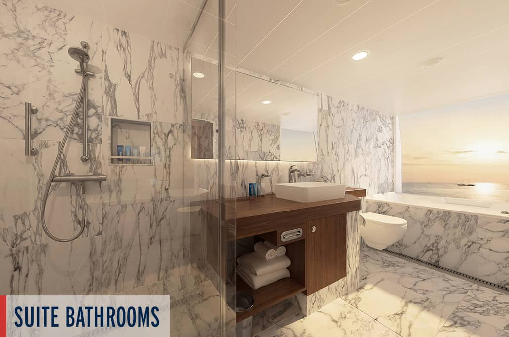 Coral Geographer Suite Bathroom Render 3