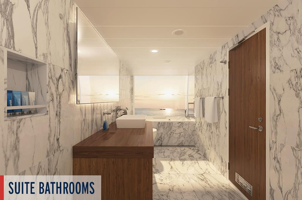 Coral Geographer Suite Bathroom Render 4
