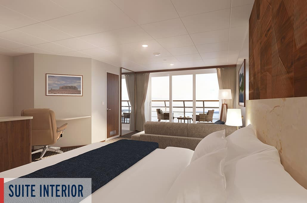 Coral Geographer Suite Interior Render 4