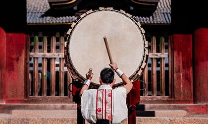 Japanese Drumming TH