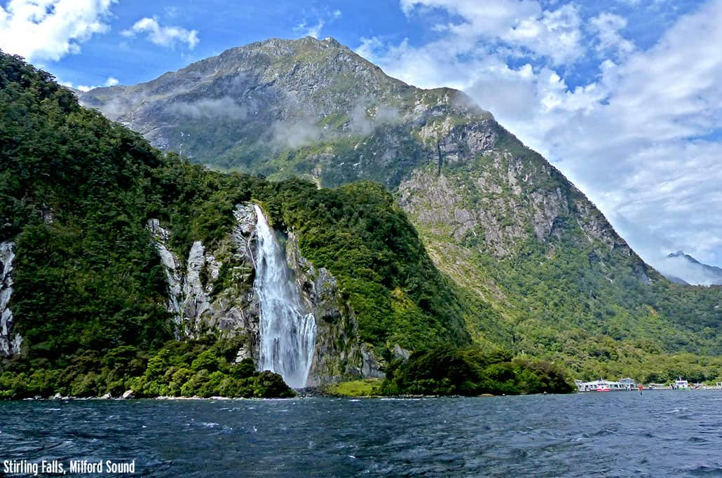 Stirling Falls, Milford Sound New Zealand