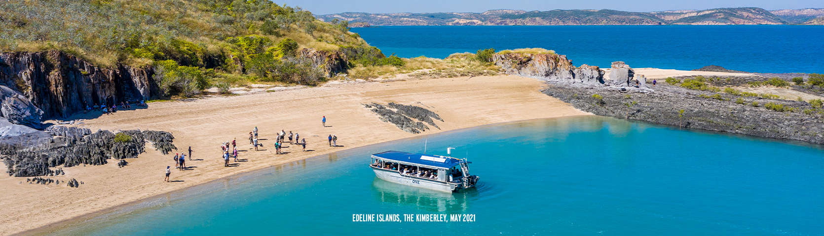 Edeline Islands Kimberley Cruise Coral Expeditions