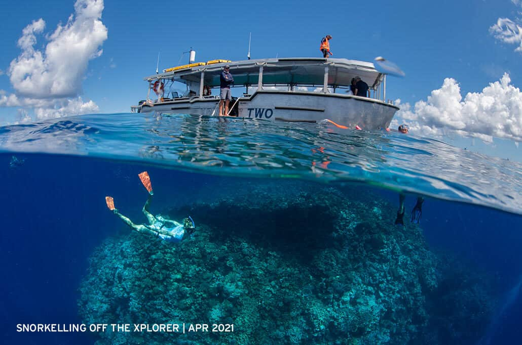 Snorkelling-off-the-Xplorer-on-the-Great-Barrier-Reef-April-2021