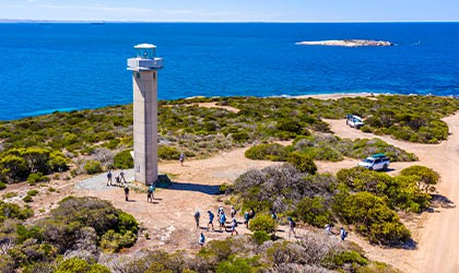 Cape-Doningtn-Lighthouse-South-Australia-Coral-Expeditions